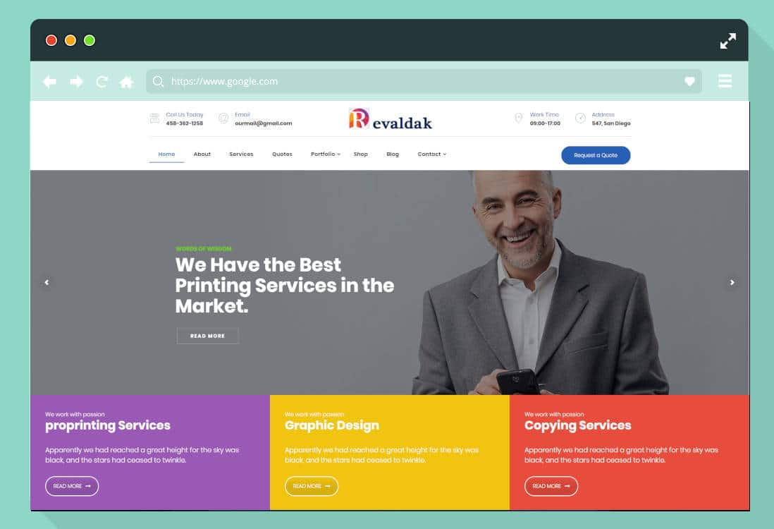 Importance of templates for the success of the websites!